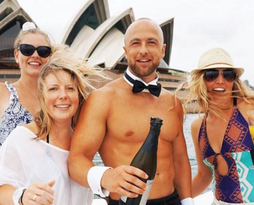 Rockfish Cruise on Sydney Harbour