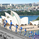 Check out Sydney harbour views from the Sydney Bridge climb