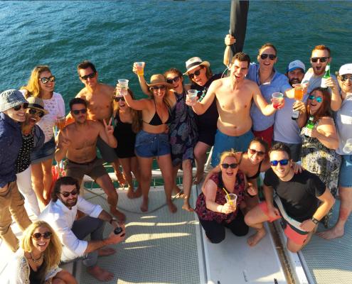 Birthday Cruise on Rockfish Catamaran
