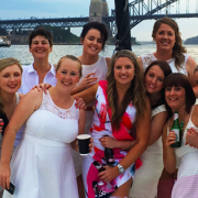 Hens party cruise on Rockfish Catamarans