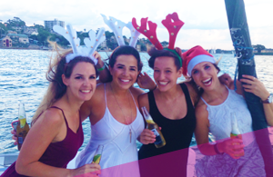 Christmas Boat Party Hire
