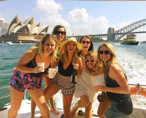 Birthday Party Cruise on Rockfish Catamaran