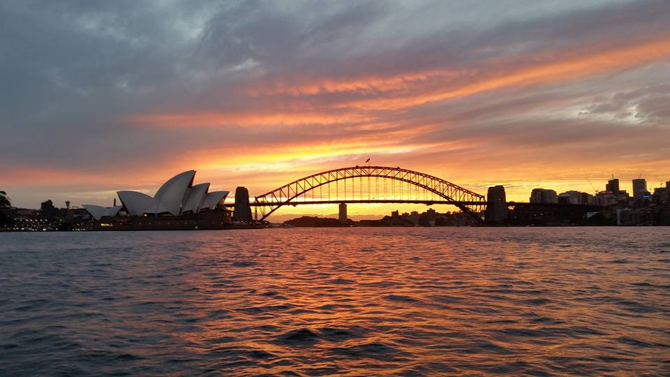 Sydney Harbour Sunsets this summer