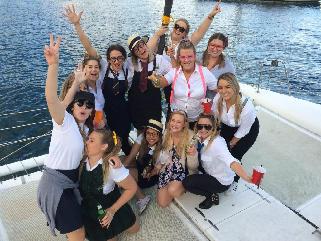 Hens party on Rockfish