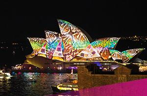 Opera House, Vivid Sydney. Credit: Tourism Australia